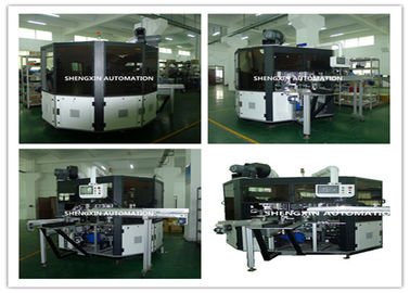 চীন PLC System Automatic Screen Printing Machine / Screen Printing On Bottles সরবরাহকারী